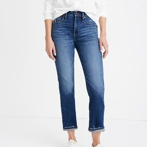 Madewell • Classic Straight Jeans Selvedge Edition